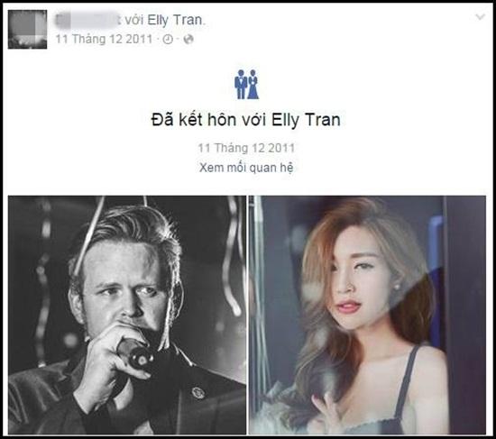 Lộ diện ông xã ngoại quốc nhiều năm giấu kín của Elly Trần? - ảnh 1
