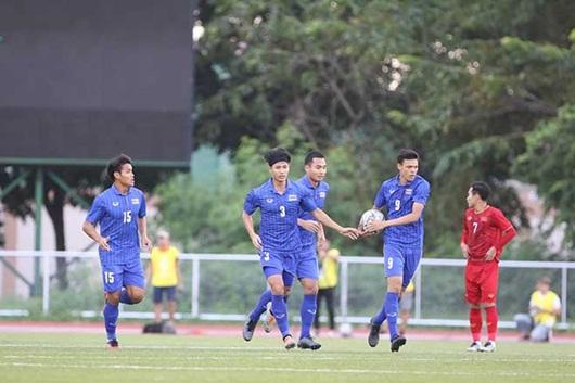 """Hòa """"nghẹt thở"""" U22 Thái Lan 2-2, U22 Việt Nam vào bán kết SEA Games 30 - ảnh 1"""