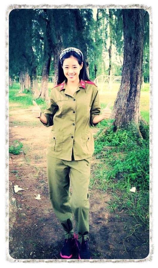 """Ảnh hiếm thời đi học của tân Hoa hậu Hoàn vũ Khánh Vân """"đốn tim"""" người hâm mộ - ảnh 1"""