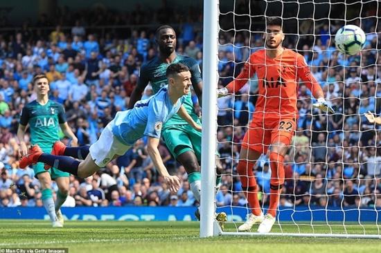 """Man City """"trả đũa"""" thành công Tottenham, tái chiếm ngôi đầu Ngoại hạng Anh - Ảnh 1"""