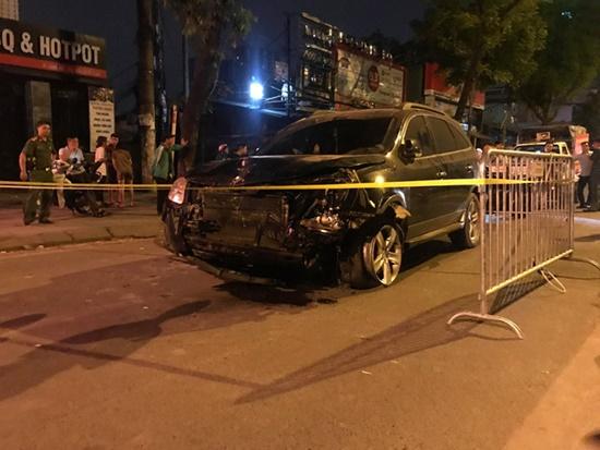 """Khởi tố vụ tài xế """"xe điên"""" gây tai nạn ở Hà Nội khiến nữ lao công tử vong - Ảnh 2"""