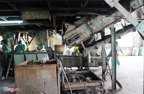 """Cận cảnh nhà máy xử lý rác thải khiến """"thiếu gia"""" Tô Công Lý bị bắt - ảnh 1"""