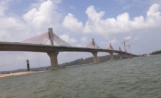 Đề xuất đổi tên cầu 2.200 tỷ ở Quảng Ngãi - ảnh 1