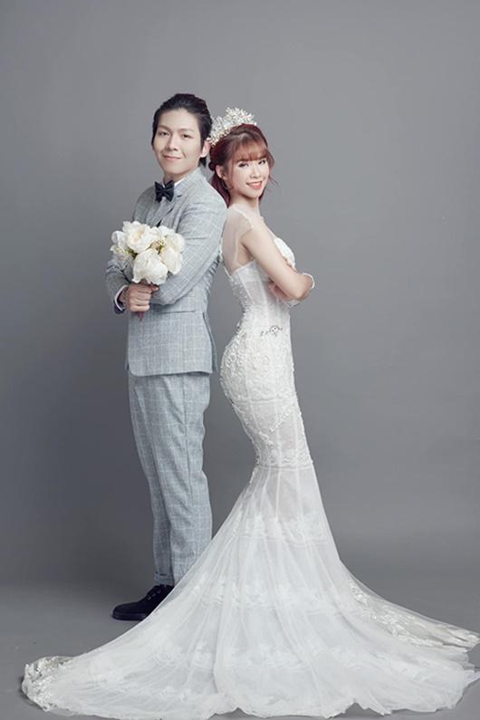 Sau gần 3 năm kết hôn, Khởi My - Kelvin Khánh lần đầu khoe ảnh cưới - ảnh 1