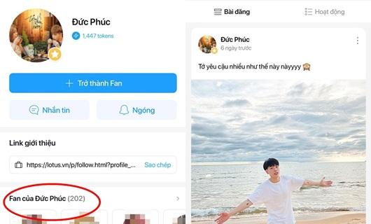 """Sao Việt """"đã và đang"""" sử dụng mạng xã hội """"made in Vietnam"""" Lotus như thế nào? - ảnh 1"""