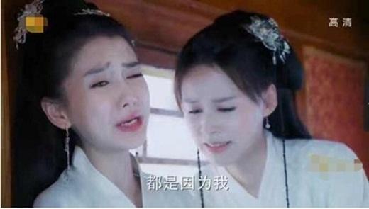 """Cảnh khóc """"gây cười"""" trong phim Hoa ngữ: Ai đó hãy dạy Lưu Diệc Phi, Angelababy """"cách sử dụng khuôn mặt"""" - ảnh 1"""