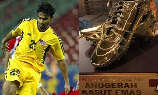 """Vua phá lưới Malaysia bán """"Chiếc giày vàng"""" để trang trải cuộc sống - ảnh 1"""