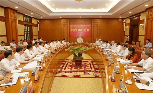 Phiên họp thứ 18 Ban Chỉ đạo Trung ương về phòng, chống tham nhũng - ảnh 1