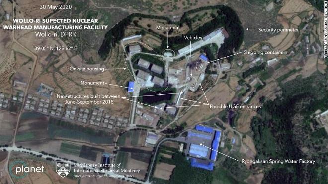 Hình ảnh vệ tinh hé lộ nhà máy bí ẩn chưa từng được công bố của Triều Tiên - ảnh 1