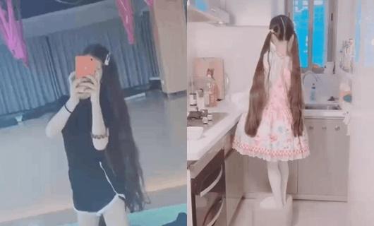 """Hotgirl Trung Quốc lỡ tay tắt app làm đẹp để lộ mặt thật """"vêu vao"""", khác hẳn vẻ """"loli"""" thường thấy - ảnh 1"""