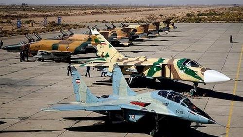 Iran tổ chức tập trận không quân trên toàn quốc - ảnh 1