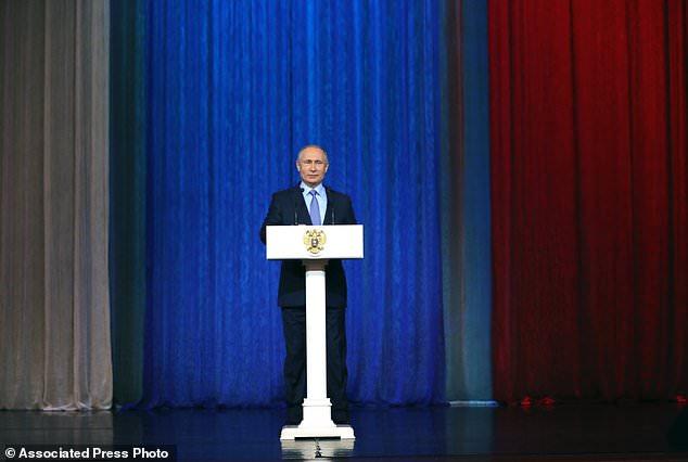Tổng thống Putin: Hơn 60 âm mưu khủng bố nhằm vào Nga năm 2017 - ảnh 1