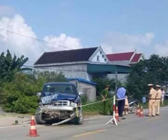 Chủ tịch xã điều khiển xe ô tô gây tai nạn nghiêm trọng