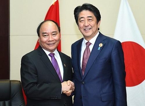Thủ tướng Nhật Bản và phu nhân kết thúc tốt đẹp chuyến thăm Việt Nam - ảnh 1