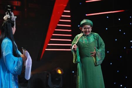 Người nghệ sĩ đa tài tập 6:Hùng Thuận hát cải lương khiến Việt Hương cười vật vã - Ảnh 2