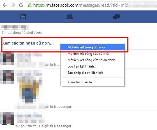 6 bước đơn giản tìm lại tin nhắn đầu tiên trên Facebook - ảnh 1