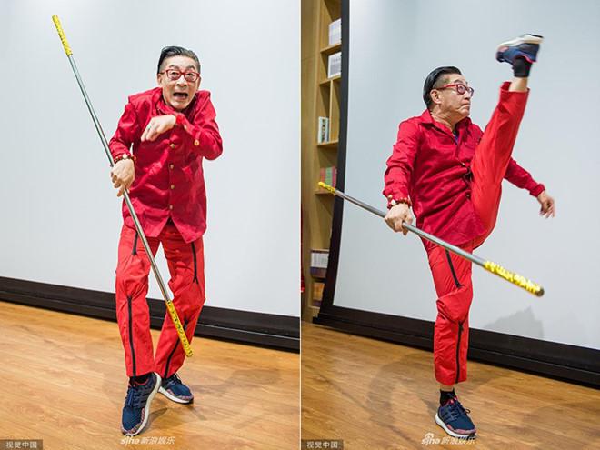 Lục Tiểu Linh Đồng đóng Tề Thiên Đại Thánh Tôn Ngộ Không ở tuổi 60 - ảnh 1