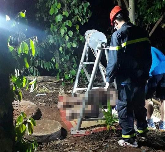 Phát hiện thi thể người đàn ông dưới giếng sau 2 ngày mất tích - Ảnh 1