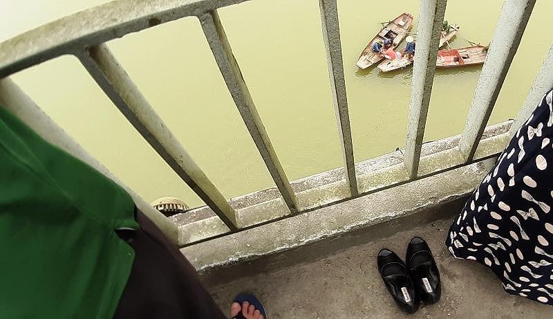 Nữ kế toán trường học bất ngờ gieo mình xuống sông Lam tự vẫn - Ảnh 1