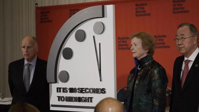 Đồng hồ tận thế nhích thêm 20 giây, loài người đối mặt với hiểm họa diệt vong? - ảnh 1