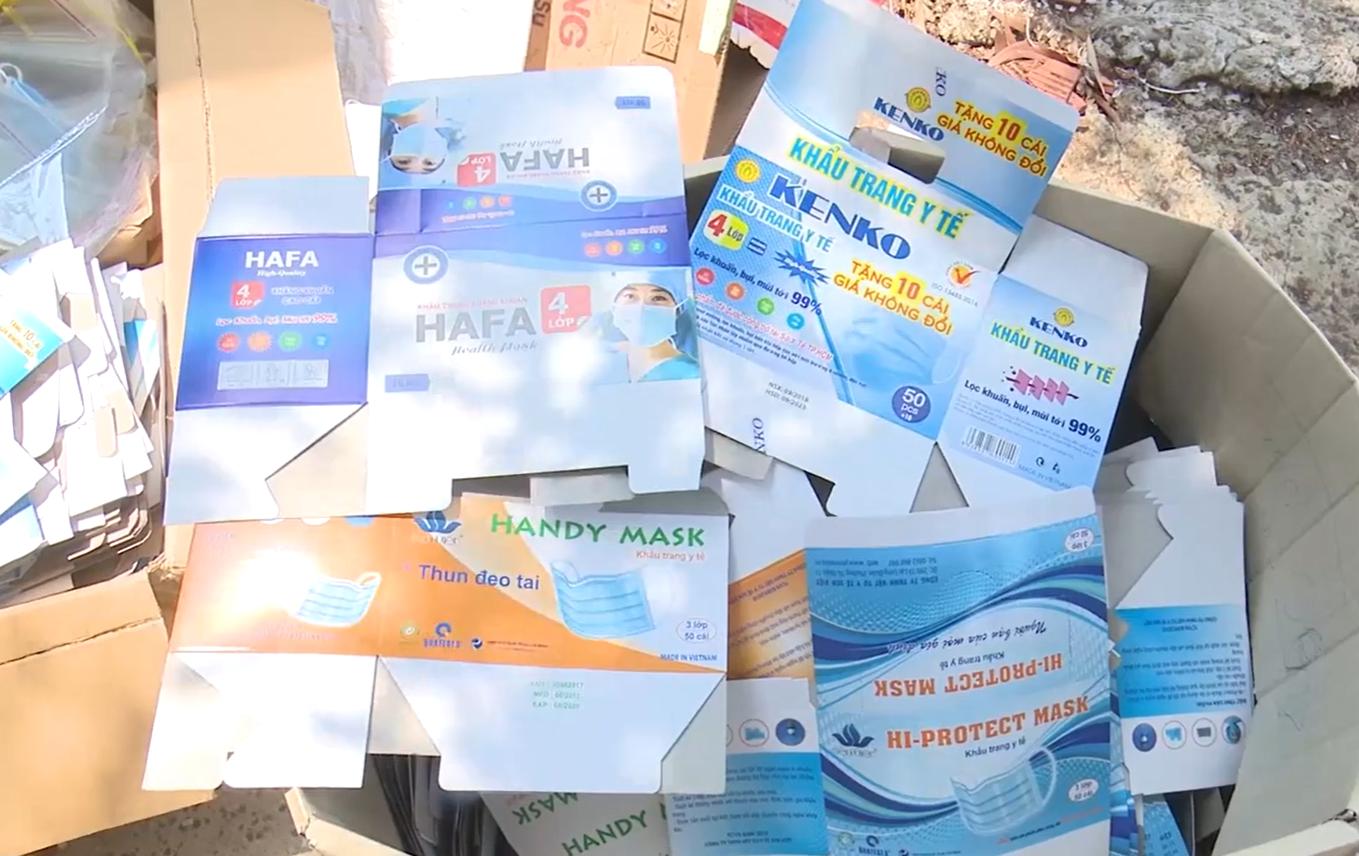 Vụ hơn 2,5 tạ khẩu trang y tế đã qua sử dụng được tái chế: Lời trần tình khó hiểu của người trong cuộc - ảnh 1