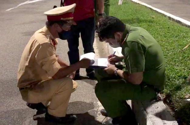 Hiện trường vụ 2 cảnh sát Đà Nẵng hy sinh khi truy bắt cướp và đua xe - ảnh 1