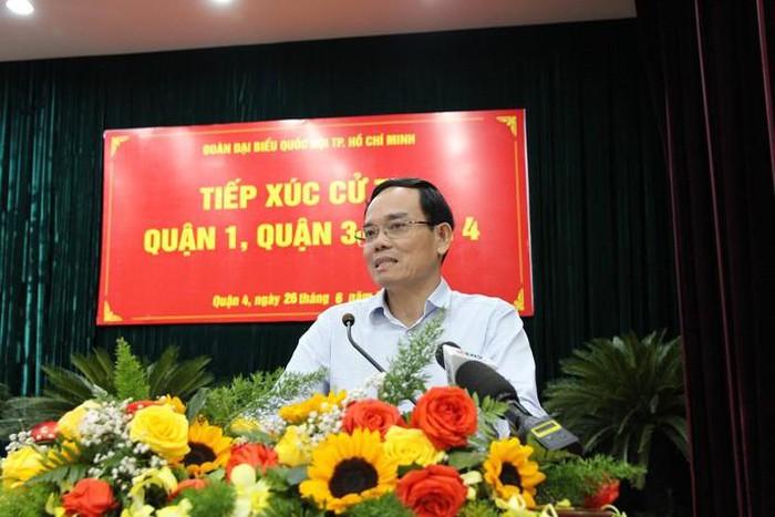 Phó bí thư Thành ủy TP.HCM lý giải nguyên nhân chậm bồi thường cho dân Thủ Thiêm - ảnh 1