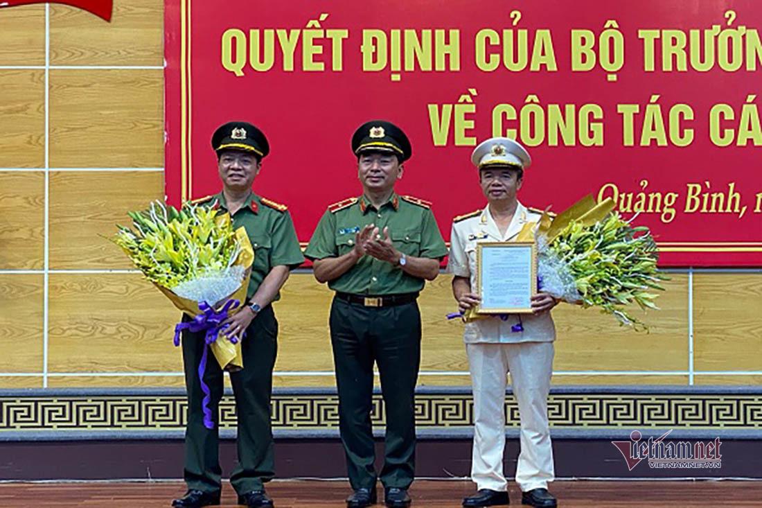Bổ nhiệm Đại tá Nguyễn Tiến Nam làm Giám đốc Công an tỉnh Quảng Bình - ảnh 1
