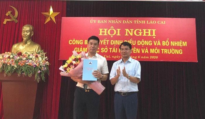 Tân Giám đốc sở Tài nguyên và Môi trường Lào Cai là ai? - ảnh 1