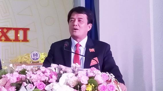 Ông Bùi Thanh Nhân tái đắc cứ Bí thư Thành ủy Dĩ An - ảnh 1