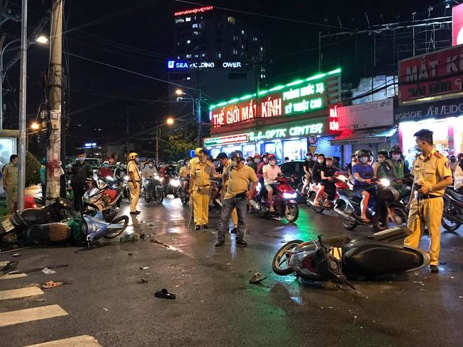 Vụ nữ tài xế 23 tuổi tông hàng loạt xe máy ở Bình Thạnh: Hé lộ nguyên nhân - ảnh 1