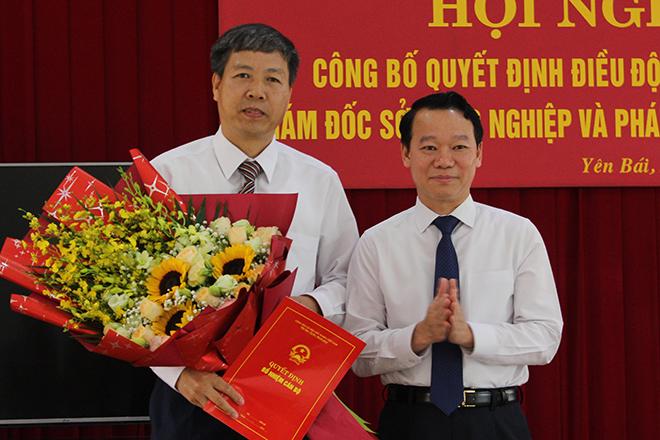 Chân dung tân Giám đốc sở Nông nghiệp và Phát triển nông thôn tỉnh Yên Bái - ảnh 1