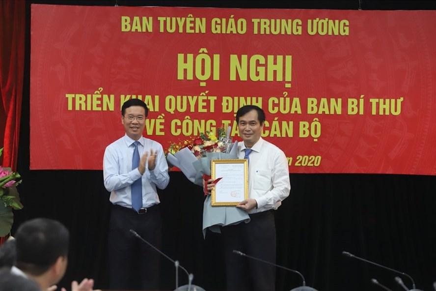 Bổ nhiệm ông Phan Xuân Thủy làm Phó trưởng Ban Tuyên giáo Trung ương - ảnh 1