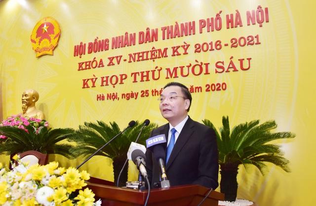 Ông Chu Ngọc Anh được bầu làm Chủ tịch UBND TP. Hà Nội - ảnh 1