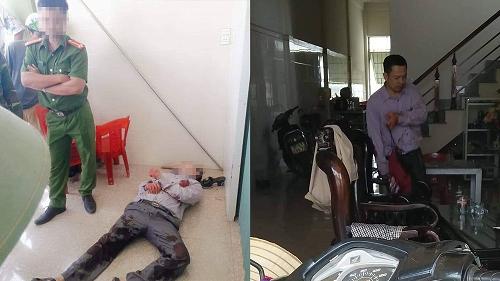 Vụ 2 người thương vong vì bị cứa cổ ở Nghệ An: Nghi phạm giả vờ ngất xỉu - Ảnh 1