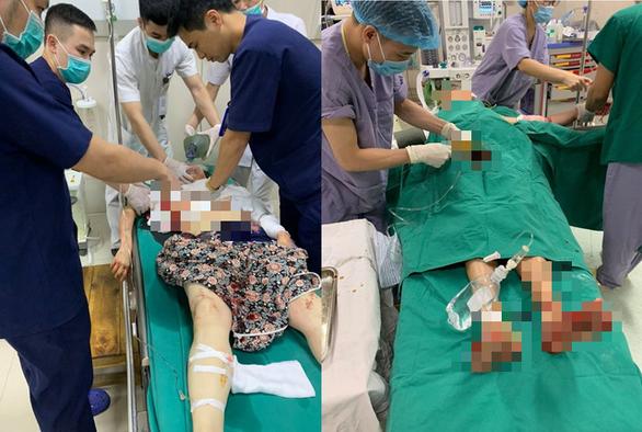 Vụ truy sát cả gia đình vợ ở Phú Thọ: Nghi phạm cầu xin mẹ chăm sóc 2 con rồi chạy lên đồi tự tử - ảnh 1