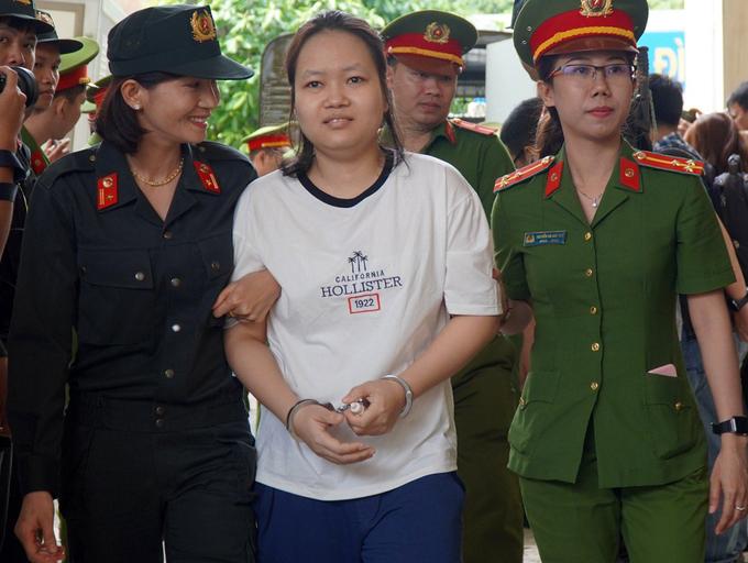 Vụ thi thể trong bê tông: Mẹ nữ chủ mưu ngã khụy khi con gái bị tuyên tử hình - ảnh 1