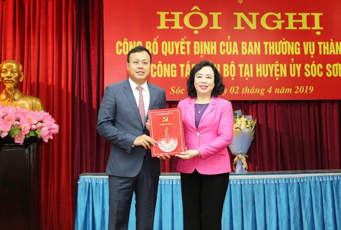 Chân dung cán bộ thế hệ 8X vừa được bầu làm Bí thư huyện ủy Sóc Sơn - ảnh 1