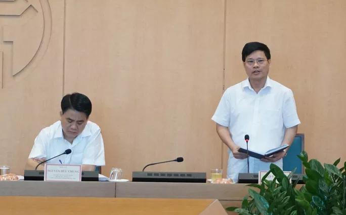Phó Chủ tịch UBND TP Hà Nội thay ông Nguyễn Đức Chung chỉ đạo chống dịch Covid-19 - ảnh 1