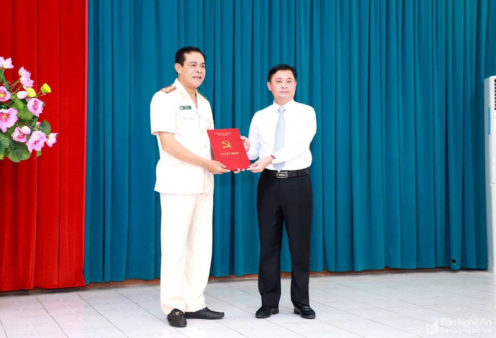 Giám đốc Công an tỉnh Nghệ An được Ban Bí thư chỉ định chức vụ trong Đảng - ảnh 1