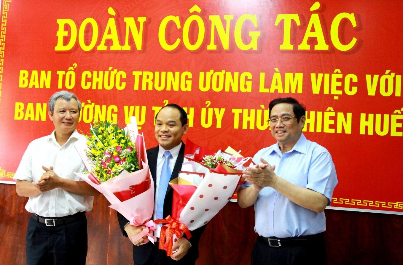 Ban Bí thư Trung ương Đảng chuẩn y tân Phó Bí thư Tỉnh ủy - ảnh 1