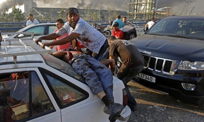 Vụ nổ thảm khốc ở Lebanon: Số người chết tăng lên 135, hơn 5.000 người bị thương - ảnh 1