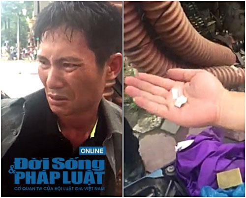 Hà Nội: 141 bắt nam thanh niên mang ma túy đá trong người - ảnh 1