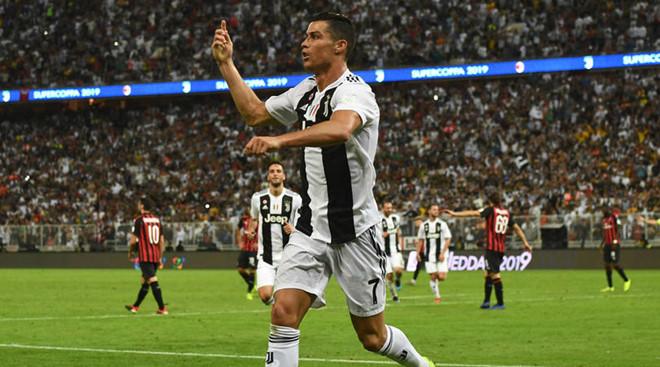 Ronaldo công phá thủ thành AC Milan, giúp Juventus đoạt Siêu cúp Italy - ảnh 1