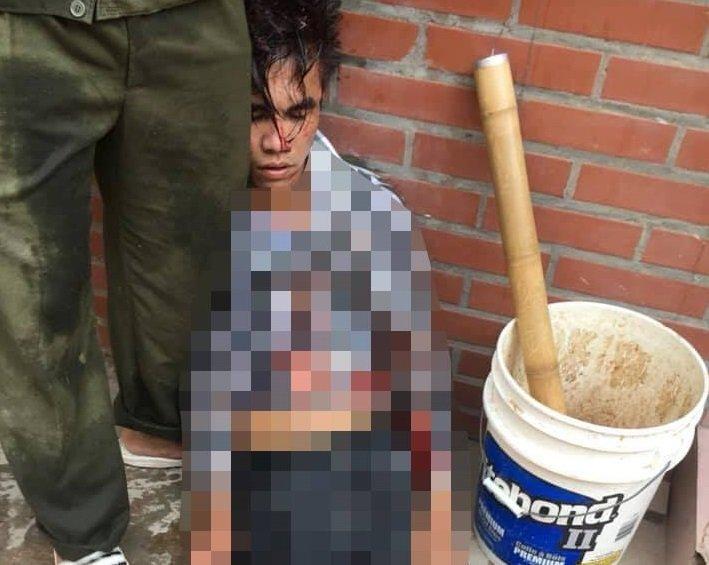 Hà Nội: Trộm xe trong lúc người dân đang chữa cháy, nam thanh niên bị đánh nhừ tử - Ảnh 1