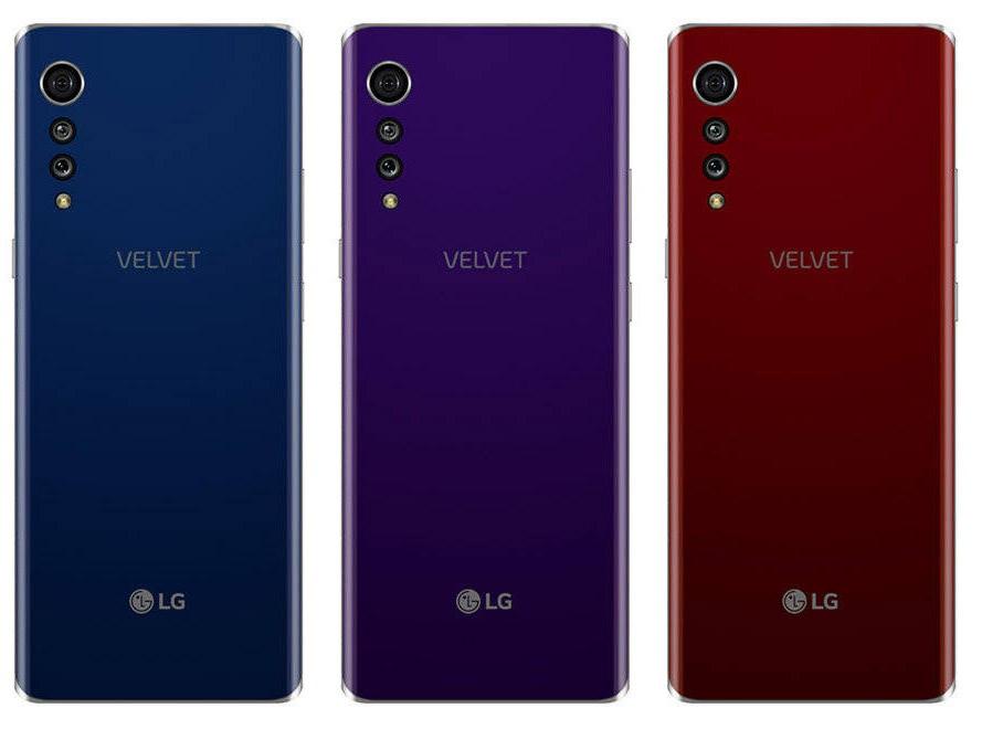 LG khai sinh dòng smartphone cao cấp Velvet mới với cụm camera dạng hạt mưa rơi - ảnh 1