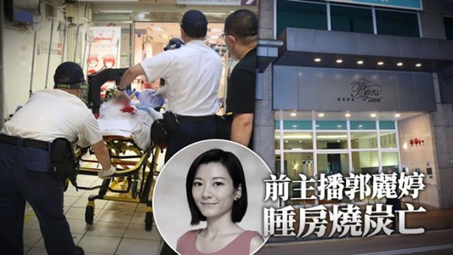 Cựu MC đình đám đài TVB Quách Lệ Đình tự sát bằng khí than, để lại thư tuyệt mệnh - ảnh 1