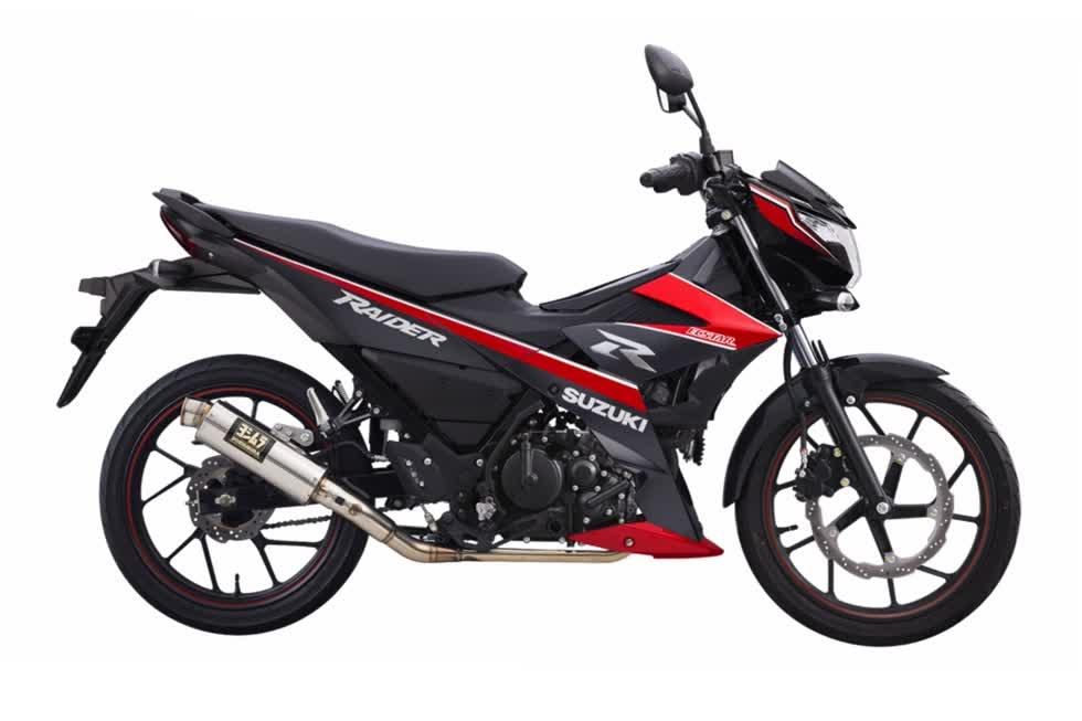 Bảng giá xe máy Suzuki mới nhất tháng 5/2020: Raider Fi đen mờ giá đề xuất 49,99 triệu đồng - ảnh 1
