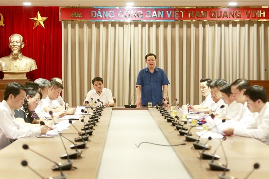 Hà Nội dự kiến trao 116 dự án cho các nhà đầu tư - ảnh 1