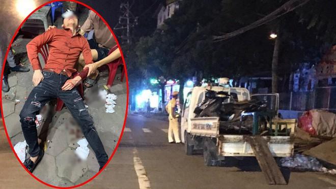 """Vụ người vi phạm giao thông """"tố"""" bị vụt vào mặt ở Vĩnh Phúc: Cục CSGT yêu cầu báo cáo  - ảnh 1"""
